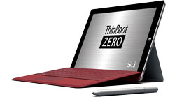 ThinBoot ZERO Surface 3モデル