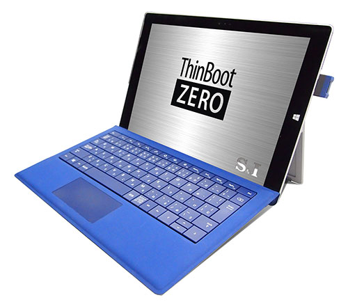 ThinBoot ZERO UBF-Hello装着時