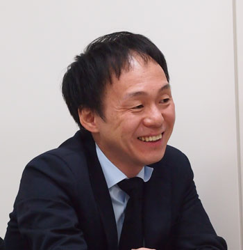 株式会社UFI FUTECH 経営管理本部 情報システム部<br />システム企画・管理グループ マネージャー 阪本健一郎氏