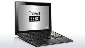 ThinBoot ZERO Type L特別モデル(ideapad MIIX 310)