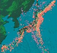 日本に比べて圧倒的に少ない「地震リスク」