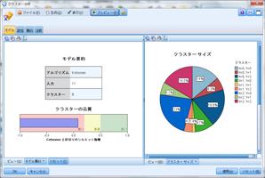SPSS Modeler - クラスター分析