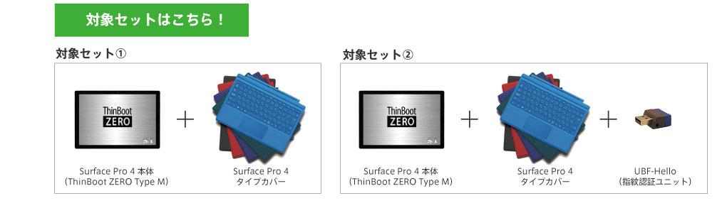 ThinBoot ZERO Type M特価キャンペーン対象セット