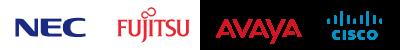 uniConnectと連携可能なPBXメーカー