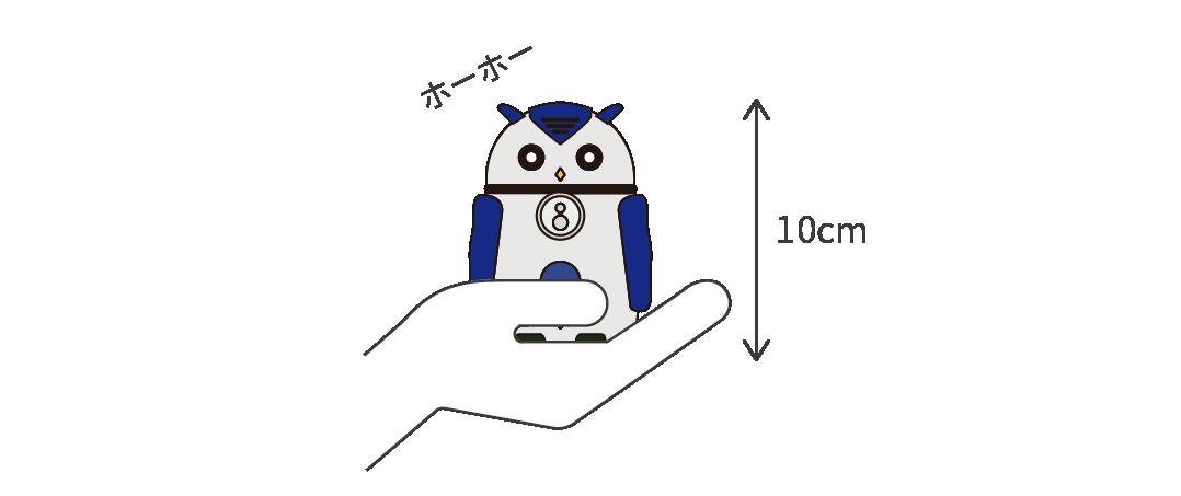 世界最小・最軽量のAIロボット